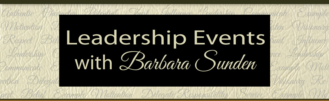 Events with Barbara