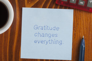 Gratitude is the Gateway to Abundance