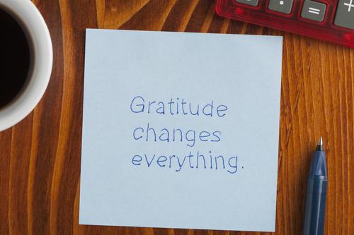 Gratitude is the Gateway to Abundance